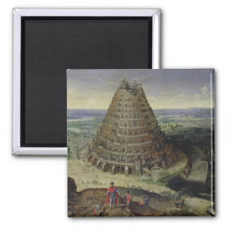 The Tower of Babel, 1594 Magnet