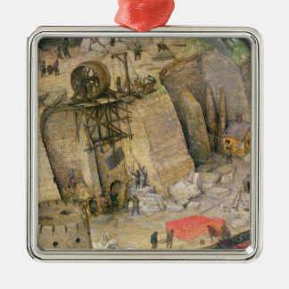 The Tower of Babel Christmas Ornament