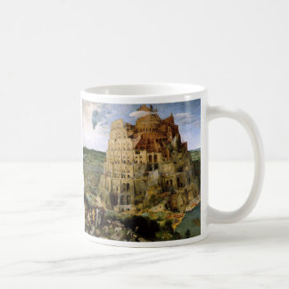 The Tower of Babel Classic White Coffee Mug