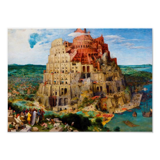 The Tower of Babel Pieter Bruegel the Elder
