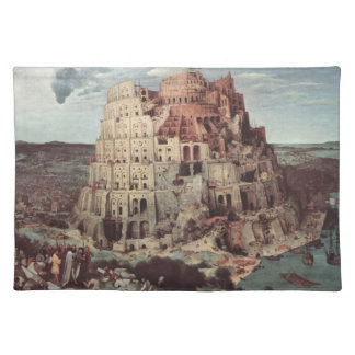 The Tower of Babel - Pieter Bruegel the Elder Placemat