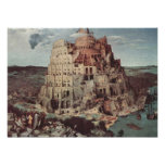 The Tower of Babel - Pieter Bruegel the Elder Poster