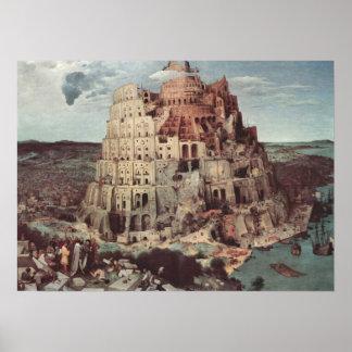 The Tower of Babel - Pieter Bruegel the Elder Poster