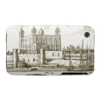 The Tower of London, 1647 (engraving) iPhone 3 Case-Mate Case