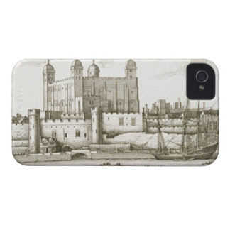 The Tower of London, 1647 (engraving) iPhone 4 Covers
