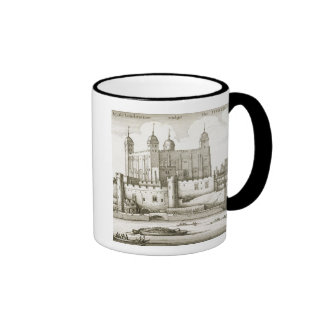 The Tower of London, 1647 (engraving) Coffee Mug
