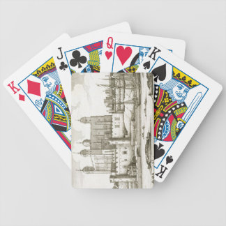 The Tower of London 1647 engraving Bicycle Poker Cards