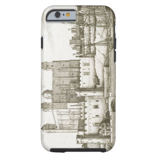 The Tower of London, 1647 (engraving) Tough iPhone 6 Case