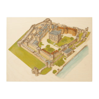 The Tower of London. London Wood Print