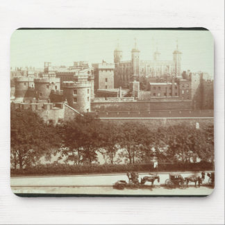 The Tower of London (sepia photo) Mouse Pad