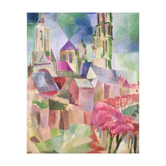 The Towers of Laon, 1911 Canvas Print