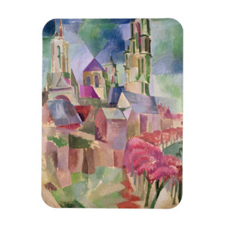 The Towers of Laon, 1911 Rectangular Photo Magnet