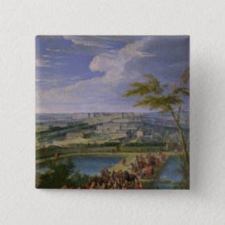 The Town and Chateau 15 Cm Square Badge