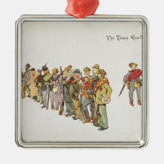 The Town Guard from The Leaguer of Ladysmith Christmas Ornament