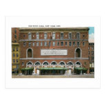 The Town Hall, New York City Post Cards