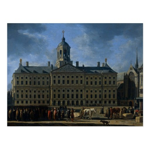 The town hall on the Dam, Amsterdam Post Cards