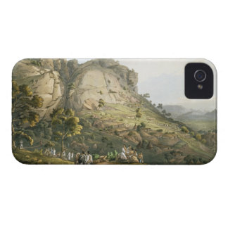 The Town of Abha in Abyssinia, engraved by J. Bluc iPhone 4 Case-Mate Case