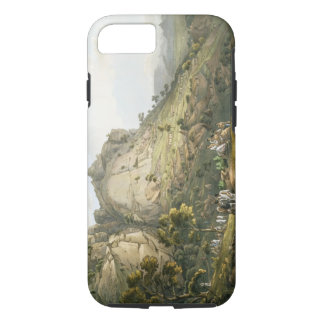 The Town of Abha in Abyssinia, engraved by J. Bluc iPhone 8/7 Case