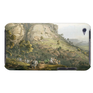 The Town of Abha in Abyssinia, engraved by J. Bluc iPod Case-Mate Case