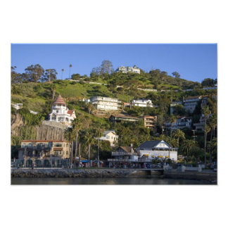 The town of Avalon on Catalina Island, Photograph