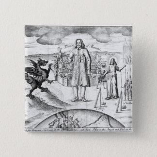 The Town of Mansoul 15 Cm Square Badge
