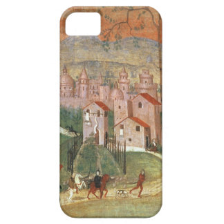 The Town of Prato (fresco) iPhone 5 Cases