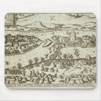 The Town of Tokay Recovered from the Turks by Herr Mouse Pad