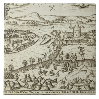 The Town of Tokay Recovered from the Turks by Herr Tile