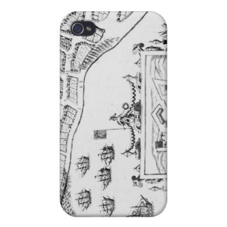 The Towne and Platforme of Fayall Cover For iPhone 4