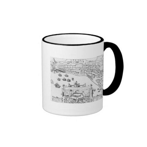 The Towne and Platforme of Fayall Mug