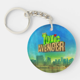 The Toxic Avenger Single-Sided Round Acrylic Key Ring