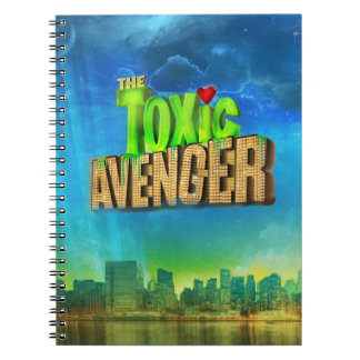 The Toxic Avenger Spiral Note Book