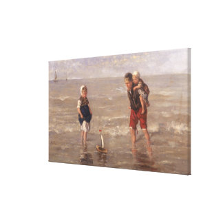 The Toy Boat Canvas Print