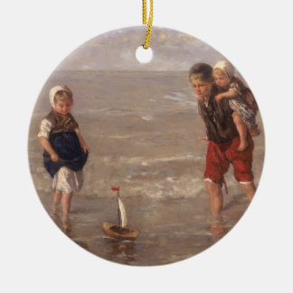 The Toy Boat Christmas Ornament