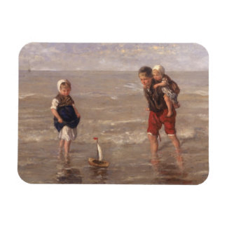 The Toy Boat Rectangular Photo Magnet