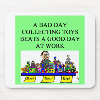 the toy collector mouse pad