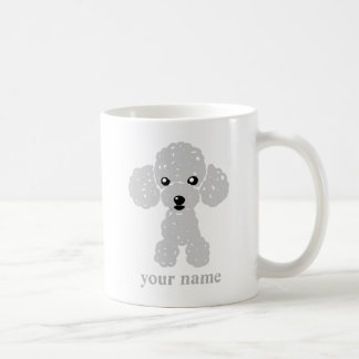 The toy poodle (white) name inserting which is coffee mug