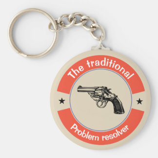 The traditional problem resolver key ring