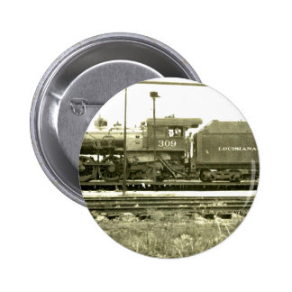 The Train Stop 6 Cm Round Badge