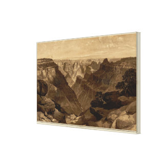 The Transept, Kaibab Division, Grand Canyon Canvas Print