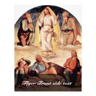 The Transfiguration By Perugino Pietro Flyers