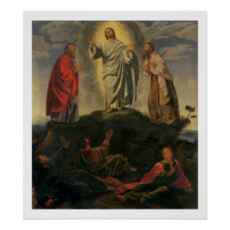 The Transfiguration, c.1527-33 (oil on panel) Poster