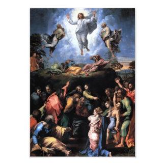 The Transfiguration Fine art 13 Cm X 18 Cm Invitation Card