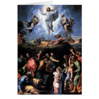 The Transfiguration Fine art Greeting Card