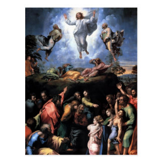 The Transfiguration Fine art Postcard
