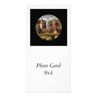 The Transfiguration of Christ Bellini Photo Card