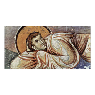 The Transfiguration Of Christ  By Meister Von Nere Photo Greeting Card
