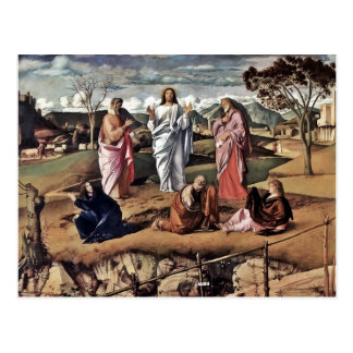 Italian religious easter gifts t shirts art posters other the transfiguration postcard negle Image collections