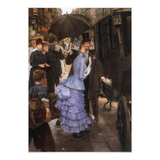 The Traveler Fine Art Painting 13 Cm X 18 Cm Invitation Card