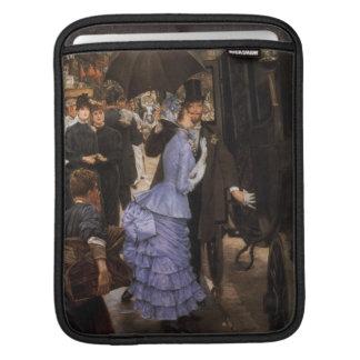 The Traveler Fine Art Painting iPad Sleeve